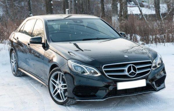 Mercedes-Benz w212 черный