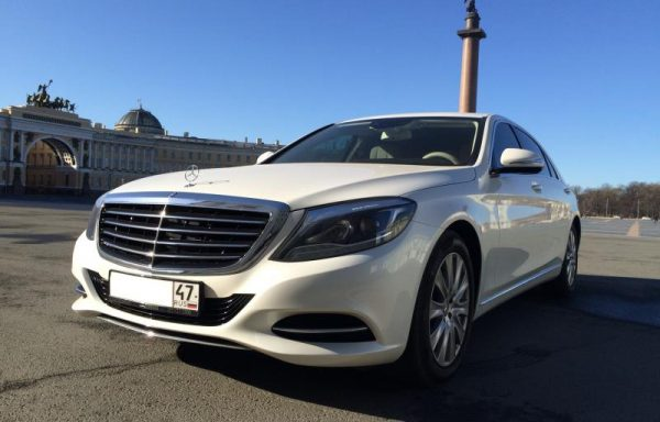 Mercedes-Benz w222 white