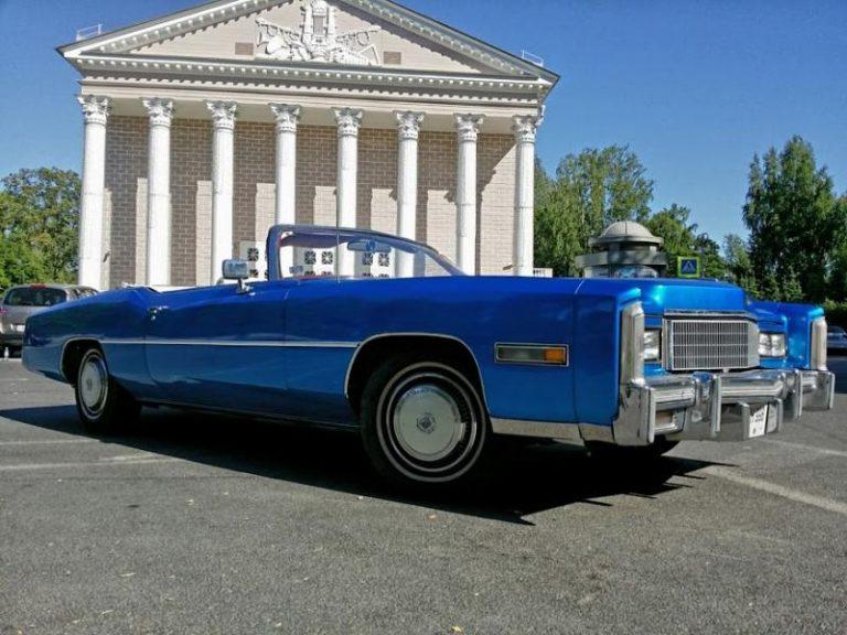 Cadillac Eldorado 1976 Blue