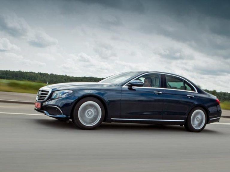 Mercedes-Benz w213 черный