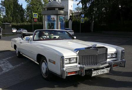 Cadillac Eldorado 1976 : ретро машина на свадьбу. Кабриолет!