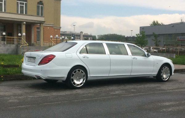 Mercedes-Benz w222 Pullman